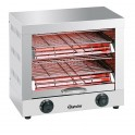 Toaster professionnel 2 grilles