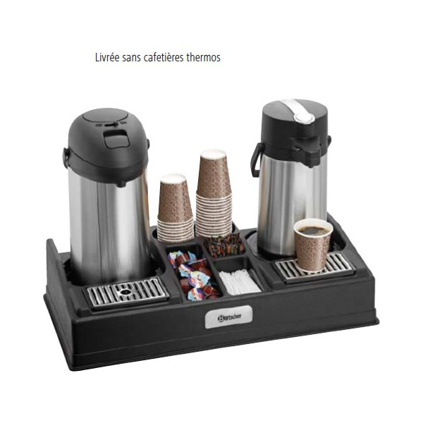 Pr sentoir caf pr sentoir pour 2 cafeti res thermos - Thermos pour cafe ...