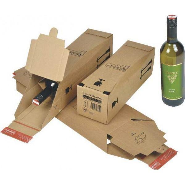 caisse bouteille avec calage int gr. Black Bedroom Furniture Sets. Home Design Ideas