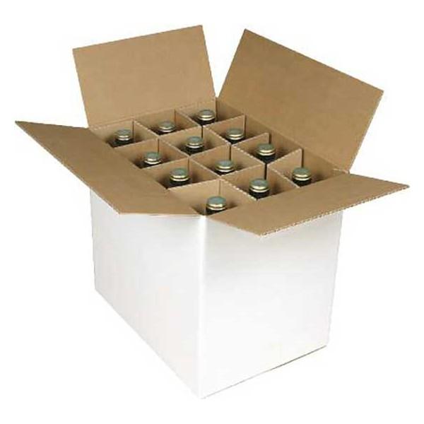 carton d 39 exp dition pour 12 bouteilles de vin. Black Bedroom Furniture Sets. Home Design Ideas