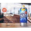 Spray désinfectant en aérosol - Lot de 12ex