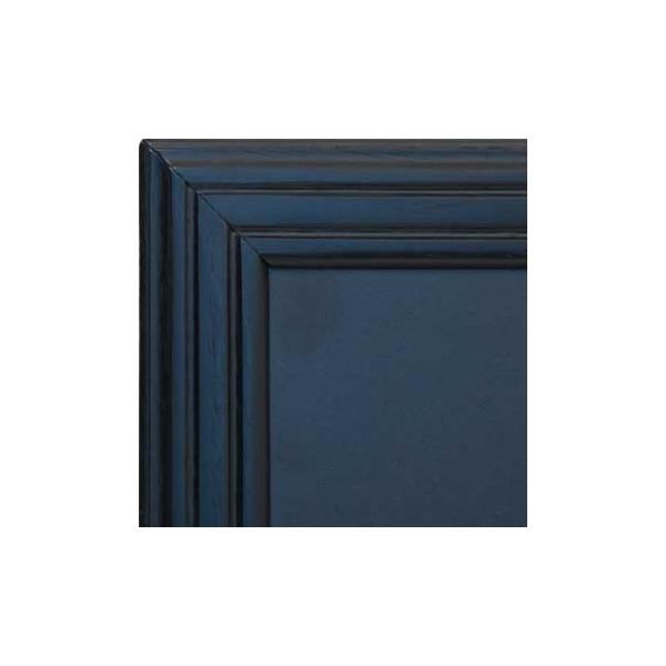 tableau ardoise cadre bois vernis noir 40 x 50cm. Black Bedroom Furniture Sets. Home Design Ideas