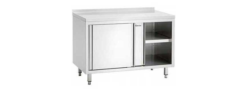 Table armoire inox