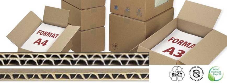 Caisse format imprimerie A3 - A4