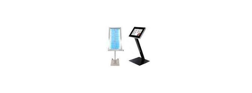 Porte menu - Eclairage LED