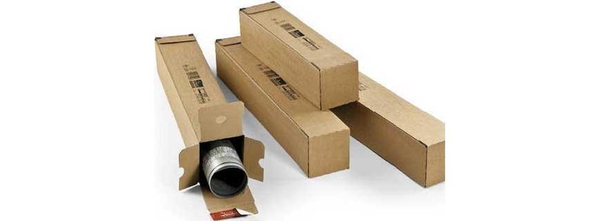 Tube carton carré